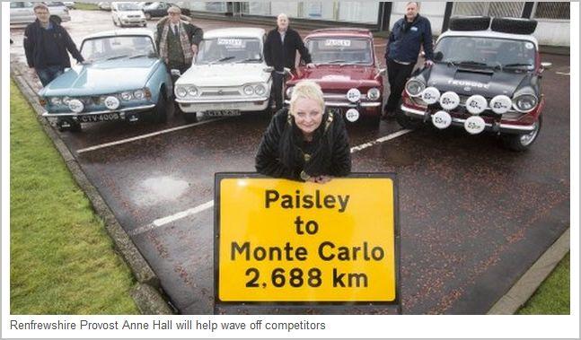Monte carlo classic rally haltham garage for Garage mini monaco